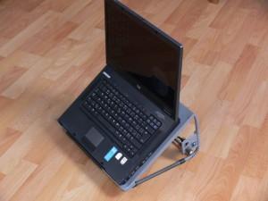 Chladící podložka s notebookem